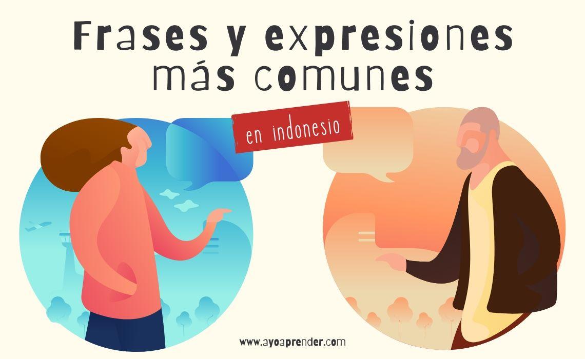 Frases Comunes en indonesio