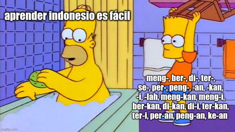 aprender indonesio es fácil