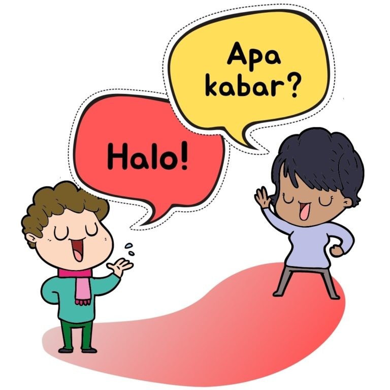 Halo, Apa kabar?
